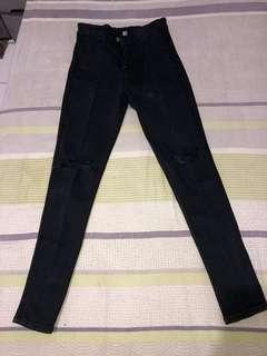 HW Jeans Knee