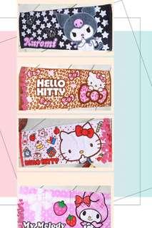 出口日本Sanrio Kuromi Hello Kitty Melody 純綿加厚毛巾📮包郵