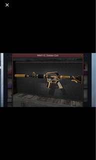 M4A1s GOLDEN COIL