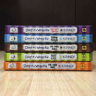 Diary Of A Wimpy Kid (Book 5-9)