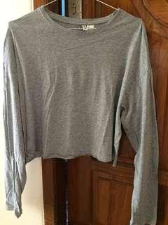 T-shirt long by h&m