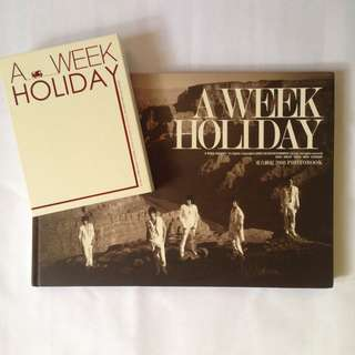 DBSK TVXQ Official photobook A Week Holiday