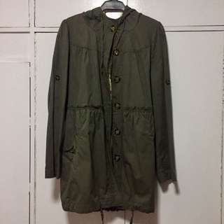 Army Green Womens Parka