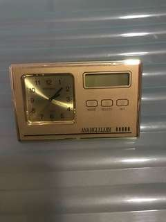 Vintage Citizen LCD Pocket Alarm Clock