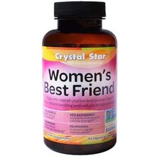 SALE END 10 JULY Crystal Star, Women's Best Friend, 90 Veggie Caps