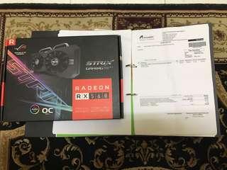 ASUS STRIX GAMING RADEON RX560 4GB OC
