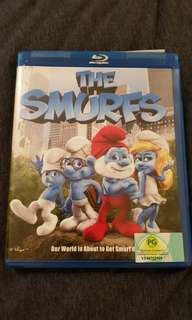 Blu Ray - The smurfs