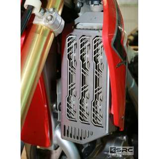 Honda CRF250L SRC Radiator Guard (Available in Black or Silver)