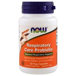 Now Foods, Respiratory Care Probiotic, 60 Veggie Caps