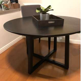 Camerich Dining Table + Custom Premium Fabric Chairs