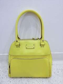 Kate Spade Handbag in Lemon Yellow
