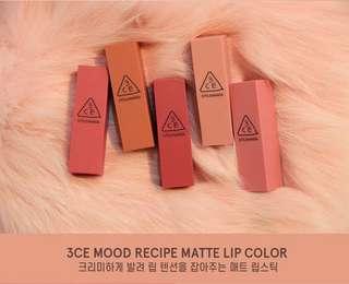 [LAST INSTOCK] 3CE STYLENANDA Mood Recipe Lipstick #222