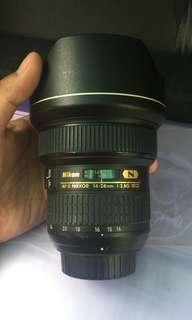 Lens Nikon. 14-24