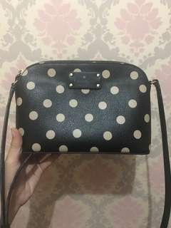 Tas Kate Spade Hanna Polkadot Original Authentic