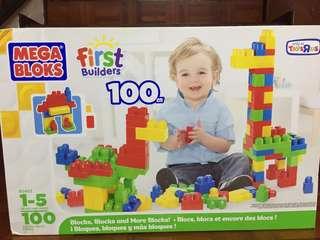 Mega Blocks First Builders - 100 pcs