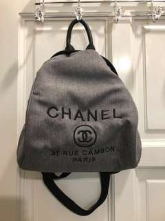 Chanel fashion backpack