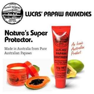 Authentic Lucas Papaw Ointment