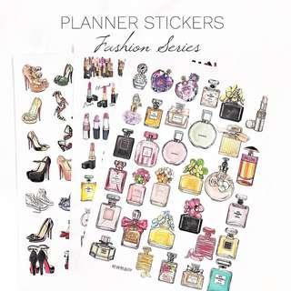 [Ready Stock] Planner Stickers - Fashion Series