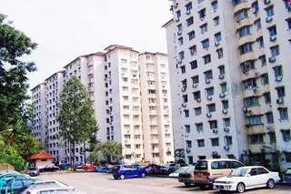 Apartment For Sale Kepong Kuala Lumpur Malaysia, Desa Aman Puri Freehold Property