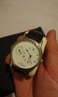 TCM dual time watch