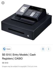 Casio Cash Register - SE-S10
