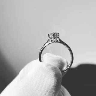48份鑽石戒指 YR001123 18K白金