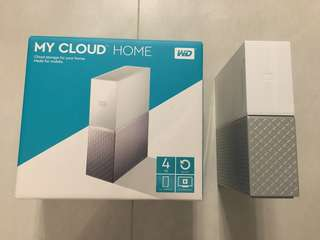 Western Digital WD Mycloud home 4tb my cloud HDD family storage