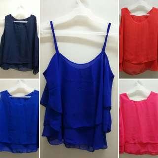 Pre-loved item blouse (5pcs)