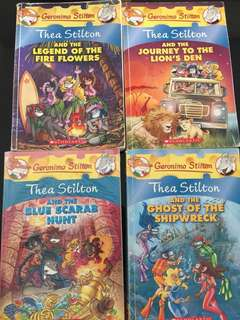 Thea Stilton Books