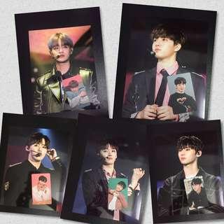 Wanna One Mini Poster & Photocard