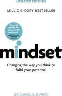 Mindset - Updated Edition : Changing The Way You think To Fulfil Your Potential  4.05 (42,093 ratings by Goodreads) Paperback English By (author)  Carol Dweck