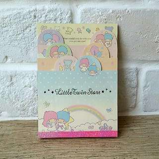 Little Twin Stars Notepad