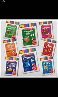 Educational books for pre school