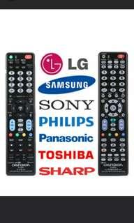Universal TV Remote Controller for SAMSUNG / LG / SONY / PHILIPS / PANASONIC / TOSHIBA / SHARP