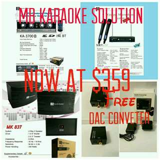 Martin Roland Karaoke system Package 2