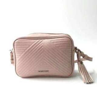 Mango Quilted sling ( pink )