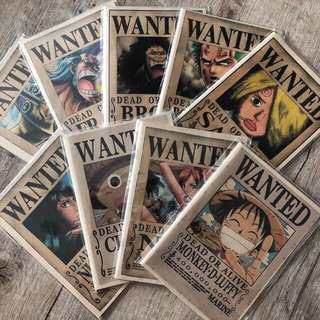 ONE PIECE notebooks!!