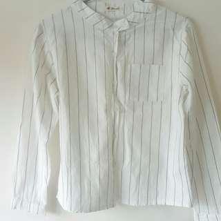 🚚 線條復古襯衫
