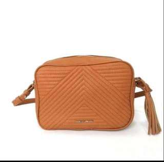 Mango Quilted sling ( tan )