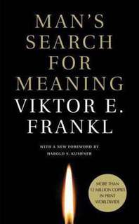 Man's Search for Meaning  4.34 (220,166 ratings by Goodreads) Paperback English By (author)  Viktor E. Frankl