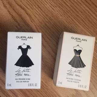 Guerlain parfumeur 小黑裙 香水 sample