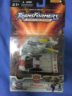 Transformers universe Prowl Robots in Disguise RID Hasbro