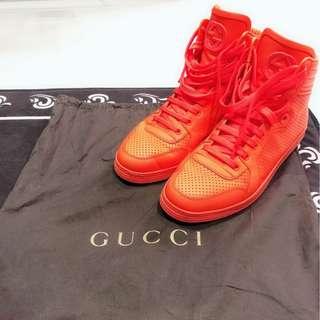 Preloved Retro Gucci Neon orange sneaker