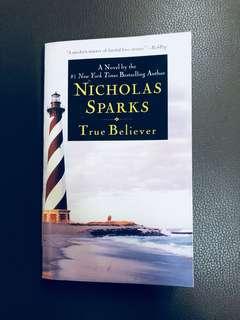 Nicholas Sparks True Believer Fiction Book
