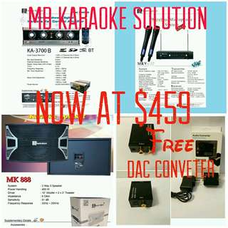 Martin Roland Karaoke system Package 1