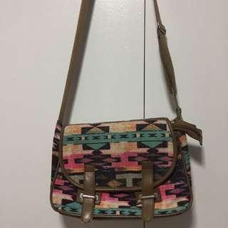 Boho Tribal Satchel Handbag