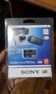 BNIB Sony Memory Stick Pro Duo 8GB