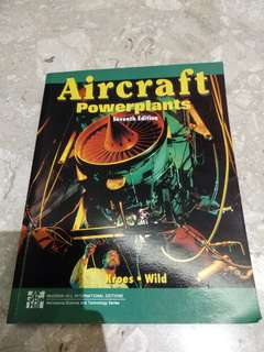 Aircraft powerplants textbook poly aerosoace engineering
