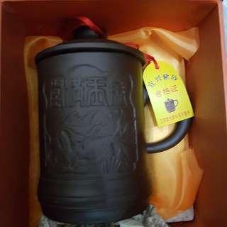 宜興紫砂保健杯