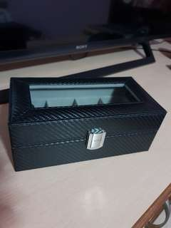 Carbon fiber Watch box 4 slots